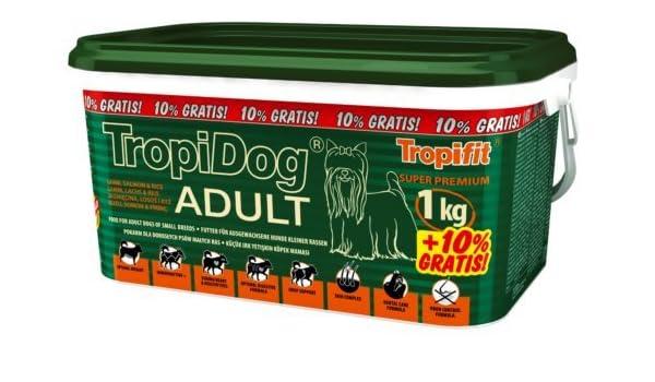 TROPIDOG - Cepillo para perros (tamaño pequeño, 1 kg): Amazon.es: Productos para mascotas