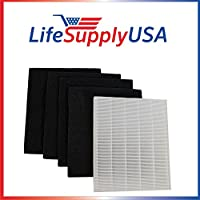 Replacement HEPA Filter set for Winix Size 17 ( 113050 ) P150 by LifeSupplyUSA