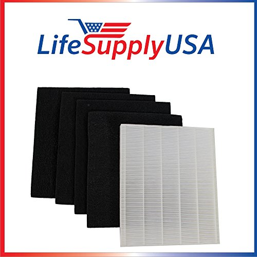 Replacement HEPA Filter set for Winix Size 17 ( 113050 ) P150 and B151 by LifeSupplyUSA