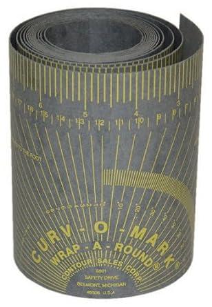 "Jackson Safety 14763 Wrap-A-Round, Medium, 4' Length x 3-7/8"" Width, Gray"