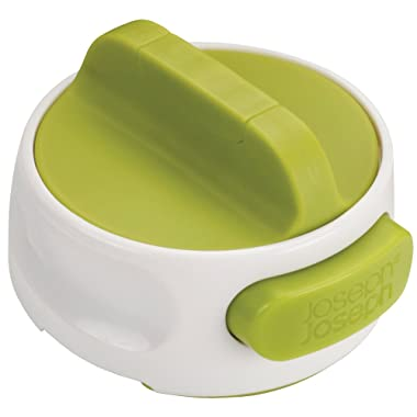 Joseph Joseph 20005 Can-Do Compact Can Opener Easy Twist Release Portable Space-Saving Manual Stainless Steel, Green