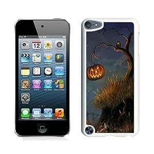 linJUN FENGPersonalized Halloween Tree White iPod Touch 5 Case 1