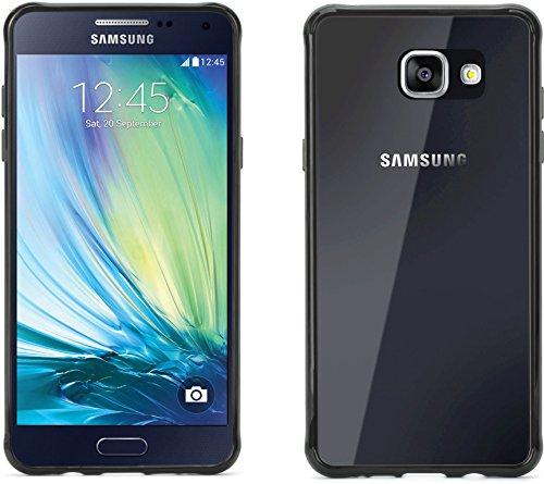 Griffin XB42605 Reveal Hülle für Samsung Galaxy A5 (2016) schwarz/klar