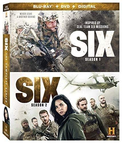 Blu-ray : Six 1 And 2: Complete Series (With DVD, Boxed Set, Subtitled, Dolby, AC-3)