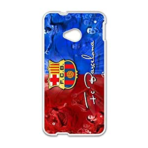 Happy FC BarcelonaCell Phone Case for HTC One M7