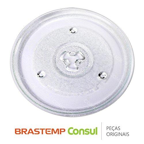 Prato Giratório 27CM 326051061 Micro-ondas Brastemp Consul BMS18AB, BMS25AB, CMM25AB, CMS18B
