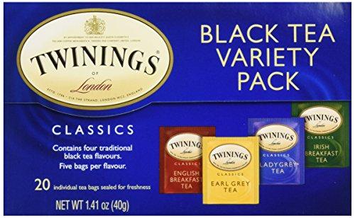 Twinings Tea Variety Pack, 20 - Twinings Pack Variety