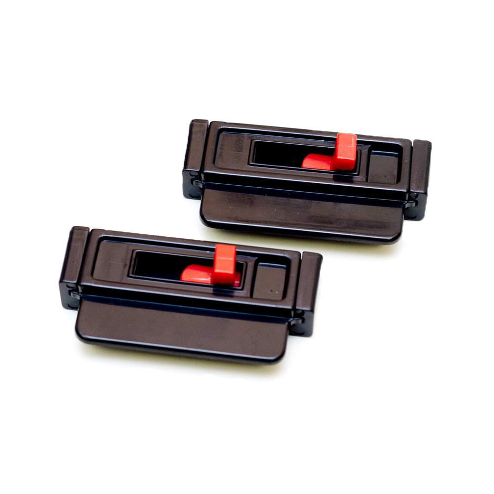 Seat Belt Tension Adjuster - Relieves Irritation Slide Universal 2-pk Lock and Go Prevents Sense of Choking While Driving or Riding in Cars