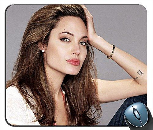 - Super Angelina Jolie v2731 Mouse Pad