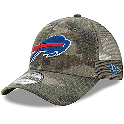 Buffalo Bills Camo Trucker Duel New Era 9FORTY Adjustable Snapback Hat / Cap from New Era