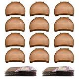 Brown Wig Cap,MORGLES 20pcs Wig Caps Stocking