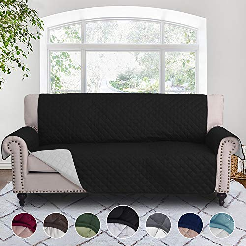 RHF Reversible Sofa Cover, Couch Covers for 3 Cushion Couch, Couch Covers for Sofa, Couch Cover, Sofa Covers for Living Room,Couch Covers for Dogs, Sofa Slipcover, Couch Protector(Sofa: ()