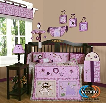 13PCS Classic Sports Baby Nursery Crib Bedding Sets Holiday Special