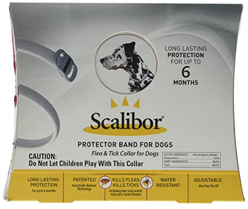 Scalibor Protector Band for Dogs - 6 Month Protection (Band Collars Dog)