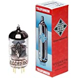 TELEFUNKEN Elektroakustik ECC82-TK | Black Diamond Series 9Pin Triode Amplifier Vacuum Tube 12AU7