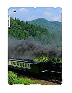 Ipad 2/3/4 Case, Premium Protective Case With Awesome Look - Steam Locomotive(gift For Christmas)