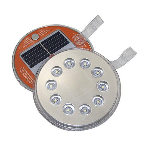 Anytime Light by TrekUltra Solar LED Emergency Light - Magnetic for Indoor/Outdoor Use-Weatherproof