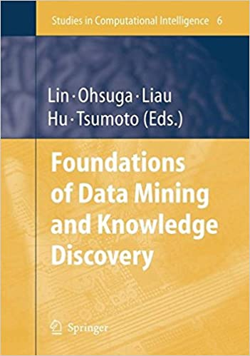 Book Foundations of Data Mining and Knowledge Discovery (Studies in Computational Intelligence)