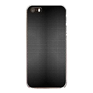 "Disagu Design Protective Case para Apple iPhone SE Funda Cover ""Carbon Look No.4"""