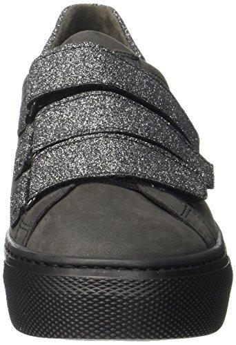Basic Dark Gris Comfort Mujer Zapatos Shoes Gabor para grey de Cordones Derby Argento EfvTxqw