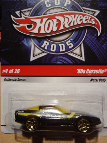 Rods Wheels Hot Cop - Hot Wheels Cop Rods '80 Corvette #4 of 26
