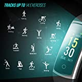 Fitness Tracker With Blood Pressure HR Monitor