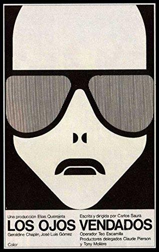 Blindfolded Eyes Poster Movie Spanish 27x40