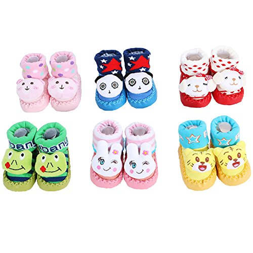Baby child floor socks Spring 0--6--12 month-old infants 1-3 years old thin cotton socks toddler socks floor socks Early Learning