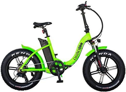 Neon Bike Plegable Bicicleta Electrica Gran Neumatico Fat 1 con ...