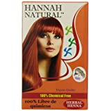 Hannah Natural Pure Herbal Henna Powder, 100 Gram