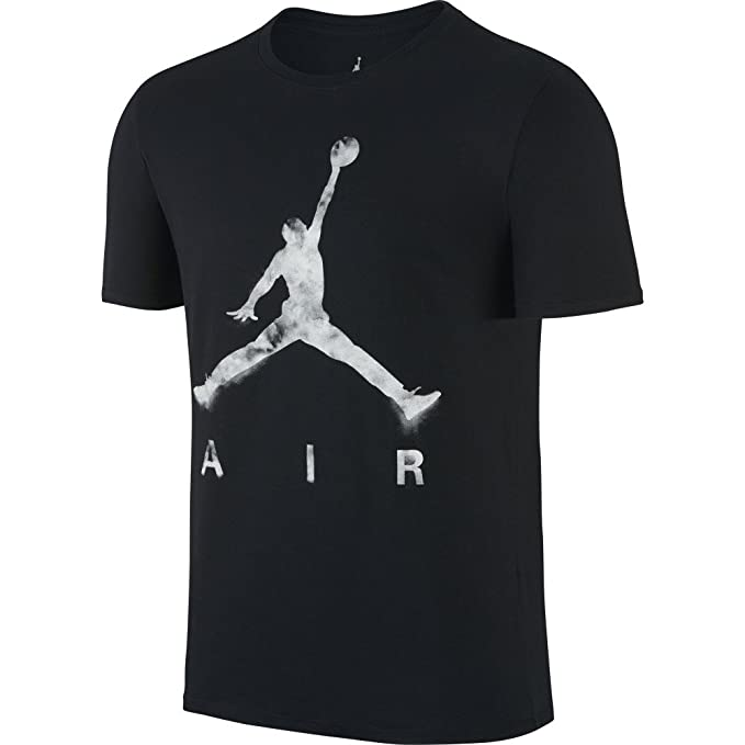 fda9093691dede Jordan Jumpman Air Dreams Men s T-Shirt Black White 801074-010 (Size ...