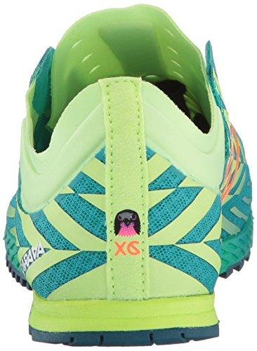 New Balance Womens 900V Removable Spike Track-Shoes, Alpha Pink/Vivid Tangerine, 8.5 B US Teal