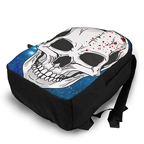 Amazon.com | Halloween Mask Clipart Fashion Printing Adult Backpack Travel Hiking Knapsack | Backpacks