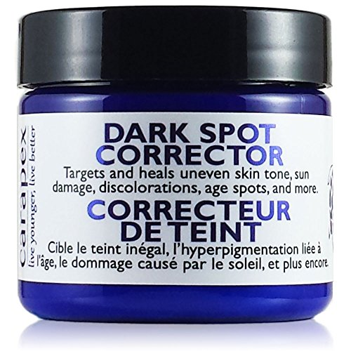 - Carapex Dark Spot Corrector, for Uneven Skin Tones, Acne Scars and Marks, Gentle Treatment Cream Suitable for Face, Body and Hands, Packed with Natural Ingredients