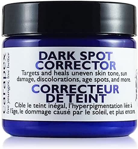 Carapex Dark Spot Corrector, for Uneven Skin Tones, Acne Scars and Marks, Gentle Treatment Cream Suitable for Face, Body and Hands, Packed with Natural Ingredients (Single)