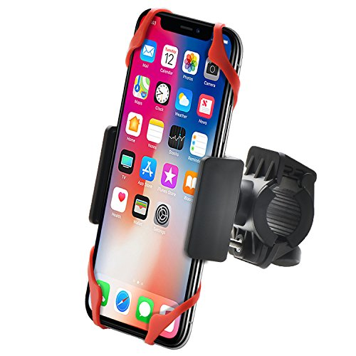 Bestrix Bike & Motorcycle Cell Phone Bike Handlebar Mount Holder for Mountain & Road Bicycle iPhone...