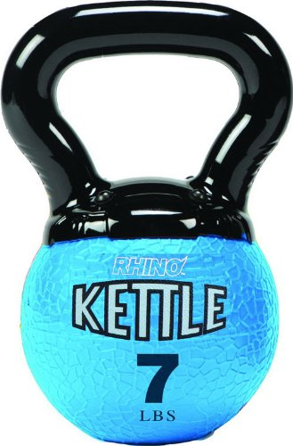 Champion Sports Kettle Bell Weights, 7-Pound by Champion Sports