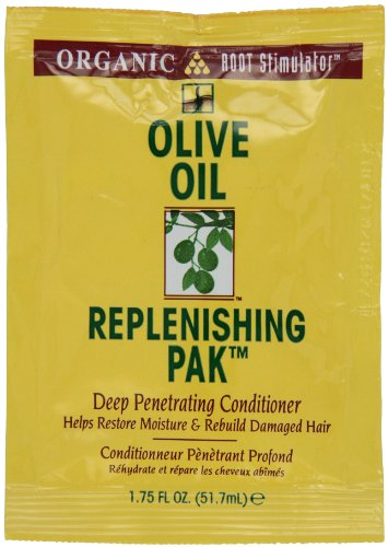 Root Stimulator Olive Oil Replenishing Pack By Organic for Unisex, 1.75 (Olive Oil Replenishing Pak)