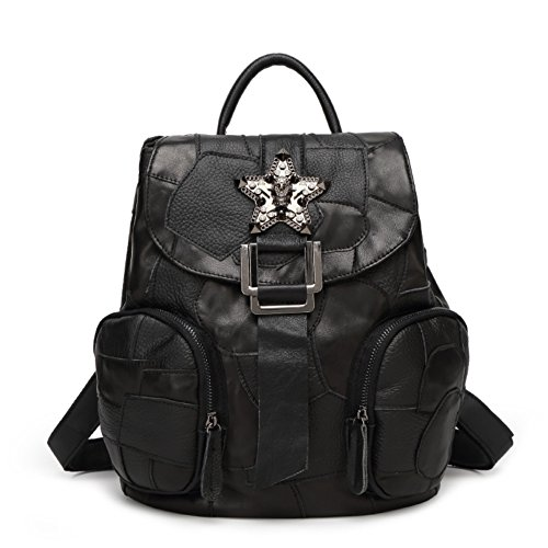 hifish-hb125285c2-pu-leather-korean-style-womens-handbagsoft-backpack