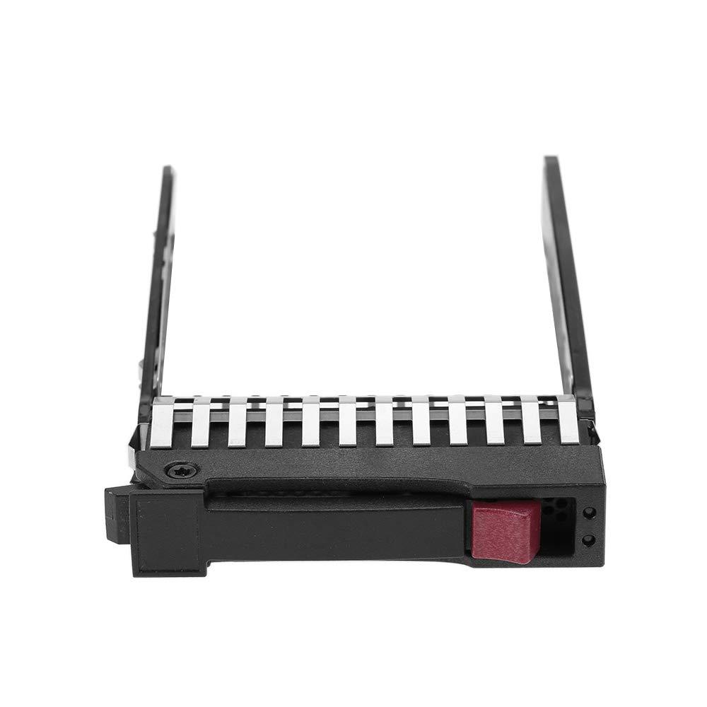 Docooler 2.5Unidad de Disco Duro SAS SATA HDD Bandeja Soporte 371593-001 para HP DL380 DL370 DL360 G5 G6 G7