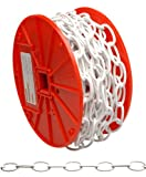 Campbell 0722004#10 X 40' White Decorator Chain Reel