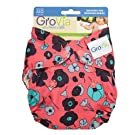 Grovia - Cotton Newborn All In One (AIO) Diaper - New Style - Poppy