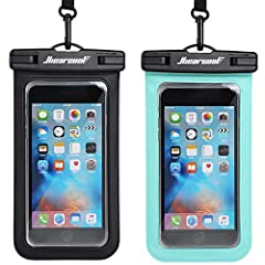 Fully Protection Designed for underwater use, swimmers, surfers and scuba divers. This waterproof bag can not only protect your phone, but also the carry-on documents, cards, or cash. Underwater Shooting All-around transparent material makes ...
