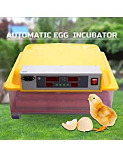 36 Egg Incubator Fully Automatic Digital Led Turning Chicken Duck Eggs Poultry