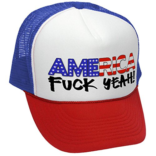 AMERICA patriotic Unisex Adult Trucker