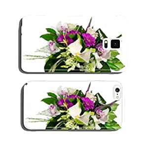 bouquet of roses, gerberas, orchids and anthurium cell phone cover case Samsung S6