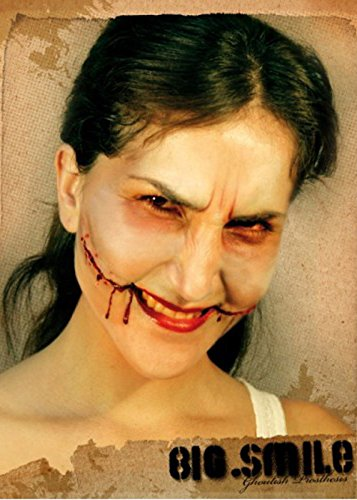 The Chelsea Smile Halloween (Slashed Mouth Chelsea Smile Fake)