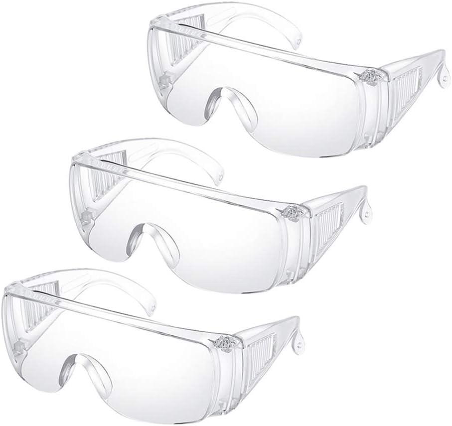 Yarnow Gafas de seguridad antivaho 6 unidades, antiniebla