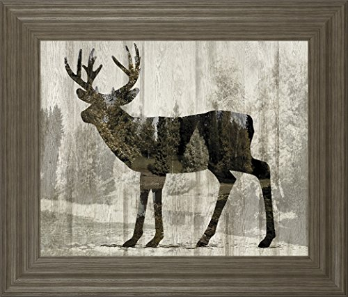 Classy Art Camouflage Animals- Deer By Tania Bello Art