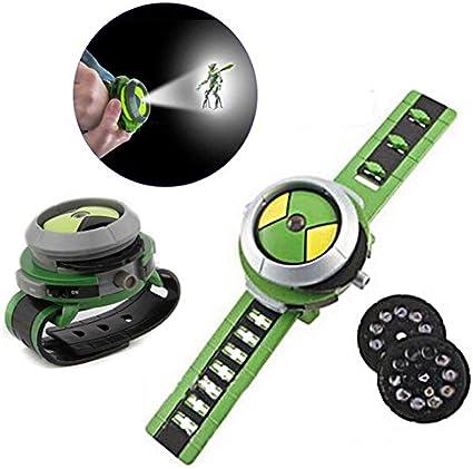 Reloj de pulsera de juguete con proyector deslizante para niños ...